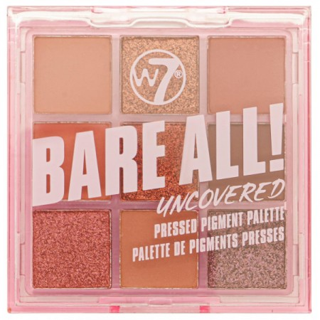 W7 Paleta Bare All Pressed...